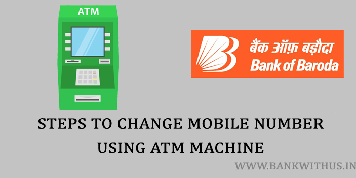 Changing Registered Mobile Number Using ATM Machine