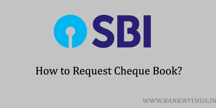 Request Cheque Book in SBI