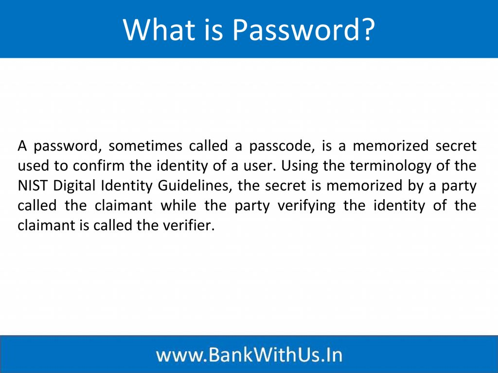 What is Password?