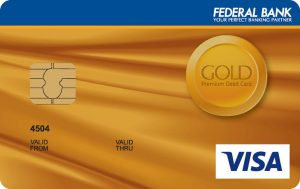 Federal Bank ATM Card or Debit Card
