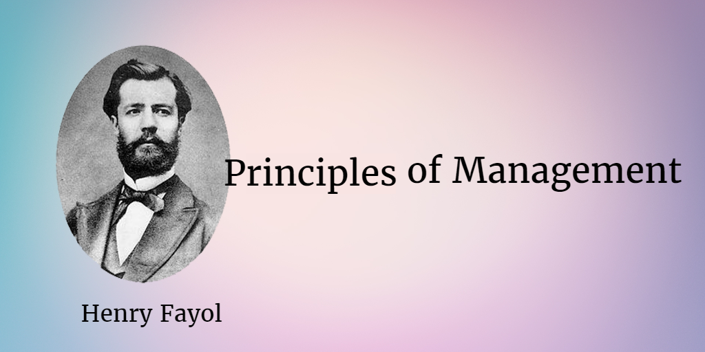 principles of management henri fayol Free essay: fayol 14 principles of management fayol's principles was introduced by henri fayol henri fayol was born in instanbul, paris in 29th july 1841.