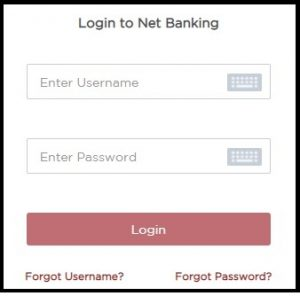 Enter Username and Password of IDFC First Bank