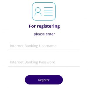 Enter Internet Banking Username and Password