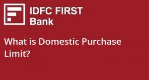 What is Domestic Purchase Limit?
