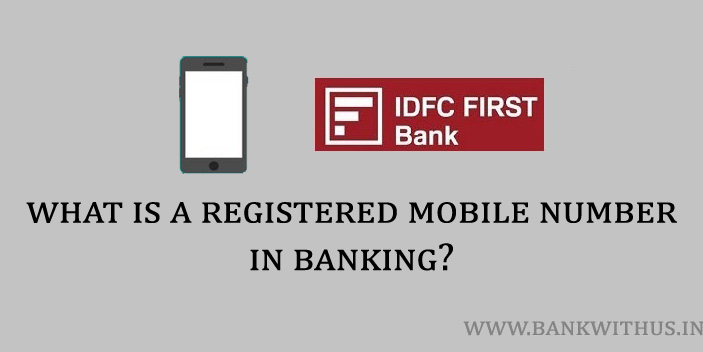What is a Registered Mobile Number?