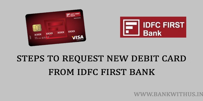 steps to request new debit card