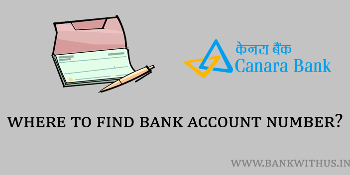 where to find bank account number?
