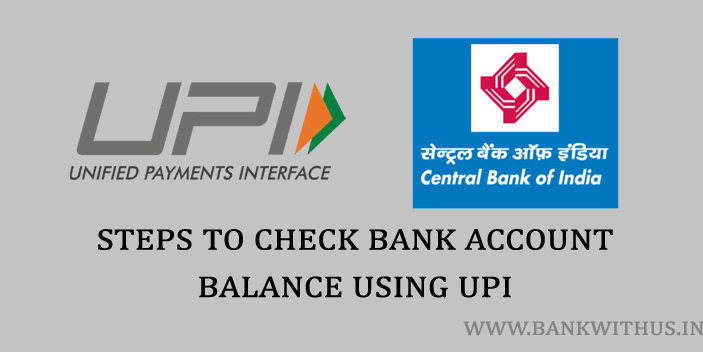 How to Check Central Bank of India Account Balance?