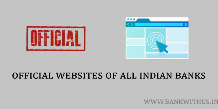 Official Websites of All Indian Banks
