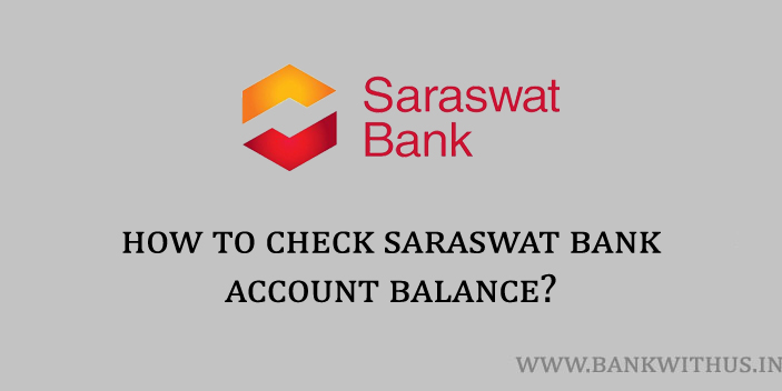Saraswat Bank Account Balance