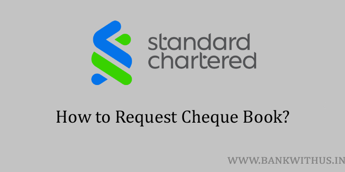 Request Cheque Book in Standard Chartered Bank