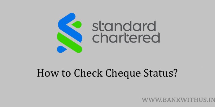 Standard Chartered Bank Cheque Status