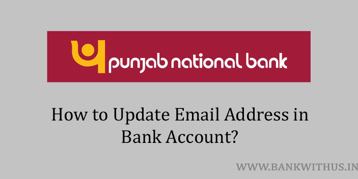 Update Email Address in PNB Account
