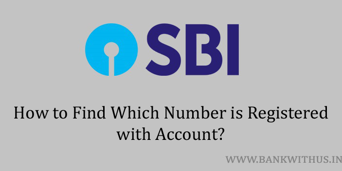 Which Number is Registered with SBI Account?